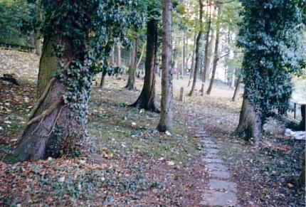 Gelände des alten jüdischen Friedhofs