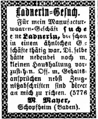 Der Israelit vom 5. Oktober 1897